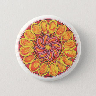 Celtic flower - Abstract button