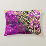 Celtic Folk Graphic 3 Decorative Pillow