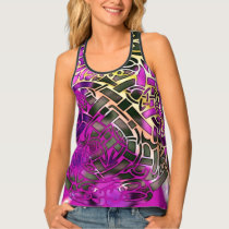 Celtic Folk Graphic 3 Tank Top