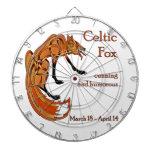Celtic Fox Dartboard