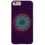 Celtic Fractal Mandala Barely There iPhone 6 Plus Case