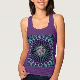 Celtic Fractal Mandala Dark T-Shirt