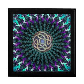 Celtic Fractal Mandala Gunge Knot Gift Box