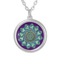 Celtic Fractal Mandala Necklace