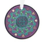 Celtic Fractal Mandala Ornament