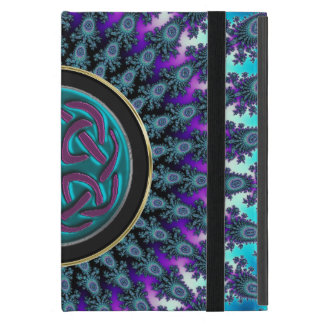 Celtic Fractal Radiant Cool Star Knot Cover For iPad Mini
