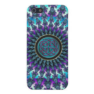 Celtic Fractal Radiant Cool Star Knot Cover For iPhone SE/5/5s