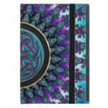 Celtic Fractal Radiant Cool Star Knot iPad Mini Case