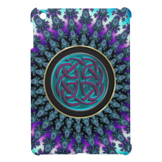 Celtic Fractal Radiant Cool Star Knot iPad Mini Cover