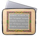 Celtic frame Electronics Bag Laptop Sleeve