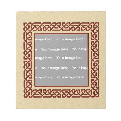 Celtic frame Notepad
