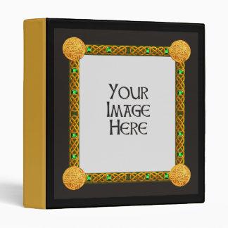 Celtic Frame Photo Album 3 Ring Binder