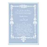 Celtic Frame Wedding Invitation - style 2