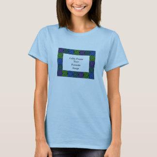 Celtic Frame, Your Favorite Image T-Shirt