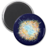 Celtic Galaxy Fridge Magnet