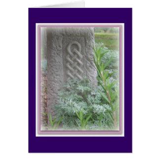 Celtic Garden Card