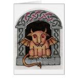 Celtic Gargoyle card