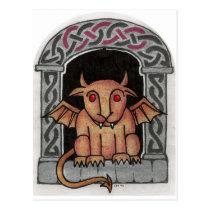 Celtic Gargoyle postcard