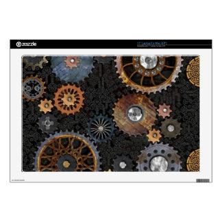 """Celtic Gears 17"""" Laptop Skin"""