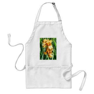 Celtic Glory Irises Adult Apron