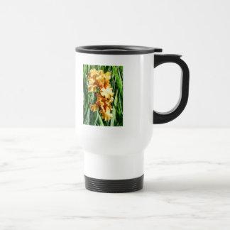 Celtic Glory Irises Stainless Steel Travel Mug