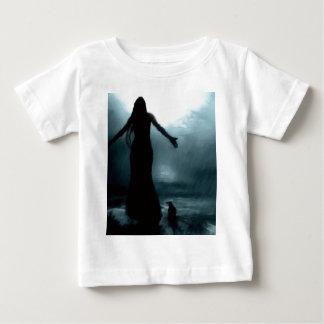 celtic goddess morrigan crow raven rain water baby T-Shirt