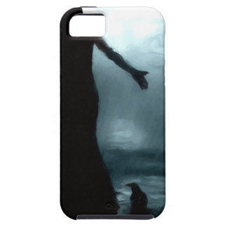 celtic goddess morrigan crow raven rain water case for the iPhone 5