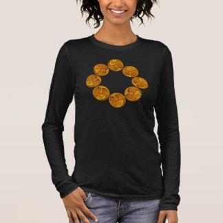 Celtic Gold Triple Spiral Cyclic Design Shirt