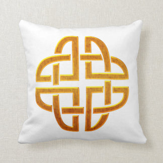 Celtic Golden D5 Irish Celtic Design Pillow