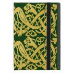 Celtic Golden Snakes iPad Mini case w/ kickstand