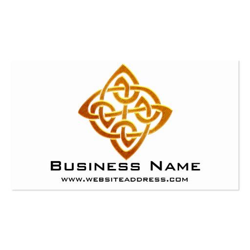 Celtic business card templates page2 bizcardstudio for Business card symbols