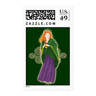 Celtic Grail Maiden Postage