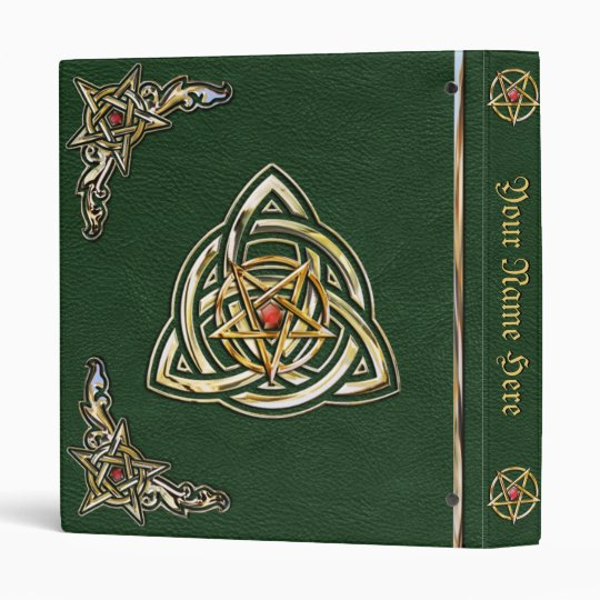 Celtic Green Book of Shadows Binder