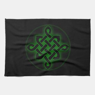 celtic green knot mystic viking symbol spiritual p towel