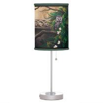 Celtic Green Man Desk Lamp