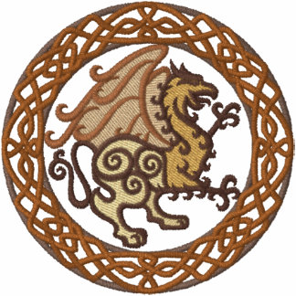 Celtic Gryphon Embroidered Jackets