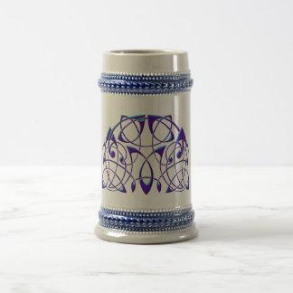 Celtic Half Moon Beer Stein