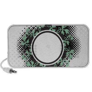 Celtic Halftone Layout iPod Speakers