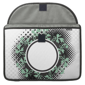 Celtic Halftone Layout MacBook Pro Sleeves