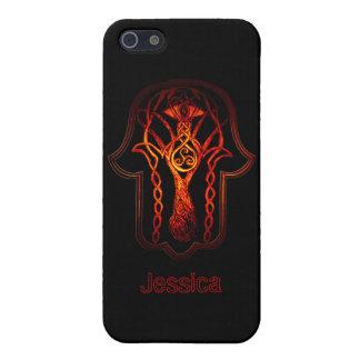 Celtic Hamsa Hand Case For iPhone SE/5/5s