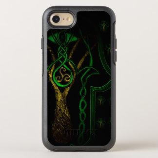 Celtic Hamsa Hand (greEn) OtterBox Symmetry iPhone 8/7 Case