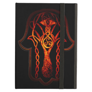 Celtic Hamsa Hand (Orange/Red) Case For iPad Air