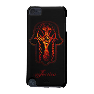 Celtic Hamsa Hand (Orange/Red) iPod Touch (5th Generation) Cover