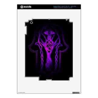Celtic Hamsa Hand (Purple) iPad 3 Decal