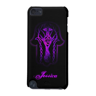 Celtic Hamsa Hand (Purple) iPod Touch 5G Case
