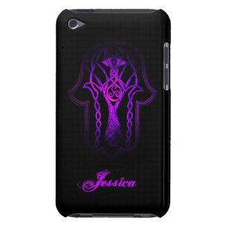 Celtic Hamsa Hand (Purple) iPod Touch Case