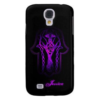 Celtic Hamsa Hand (Purple) Samsung Galaxy S4 Cover