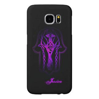 Celtic Hamsa Hand (Purple) Samsung Galaxy S6 Case