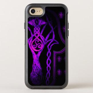 Celtic Hamsa Hand (Purplish) OtterBox Symmetry iPhone 8/7 Case