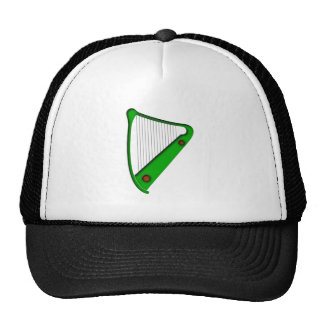 Celtic harp celtic harp trucker hats